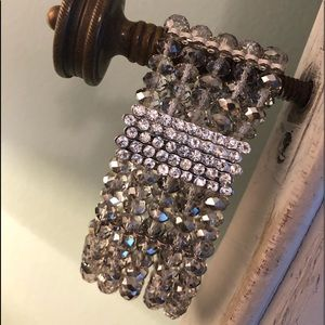 Jewelry - Swarovski crystals and rhinestone bracelet